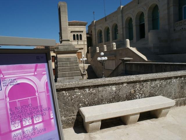 San Marino, l'arte contemporanea alla nuova Galleria nazionale.