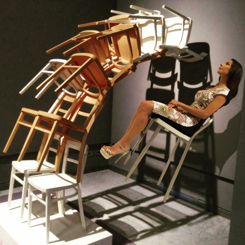 Movimento sedentario (senza titolo - Arman)
