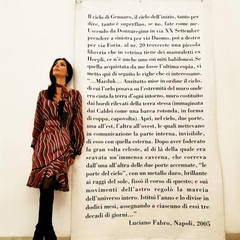 Curvatura spaziale (Luciano Fabro - Il cielo di San Gennaro, 2005)