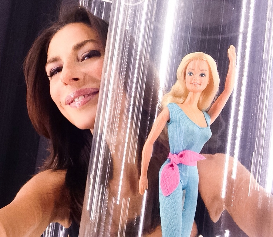 Selfie con Barbie (Barbie the Icon @ Mudec)