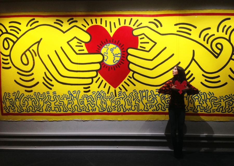 The sacred heart of Keith (Keith Haring, untitled)