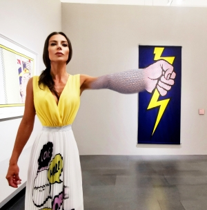 Love and Thunder (Roy Lichtenstein - Thunderbolt, 1966)