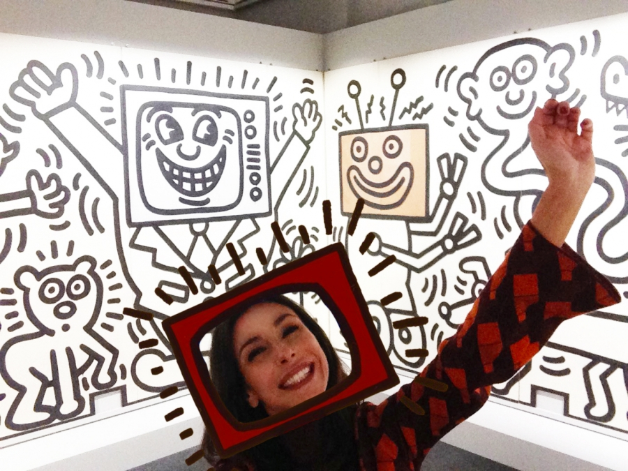 Buco il video! (Keith Haring, untitled - Mural for st.Patrick's Daycare Center, San Francisco)