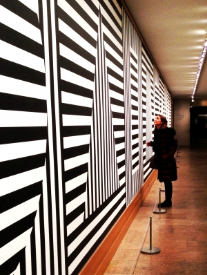 Star and stripes (Sol Lewitt, Wall Drawing #370)