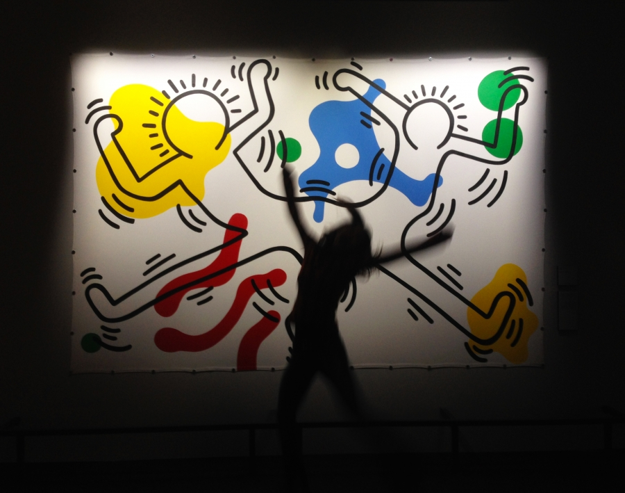 Hip hip Hop hop (Keith Haring, untitled)