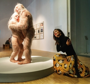 The beauty in the beast (Patricia Piccinini - Sanctuary)