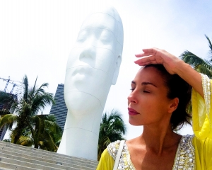 Niente musi lunghi (Jauma Plensa - Looking into My Dreams, Awilda 2012)