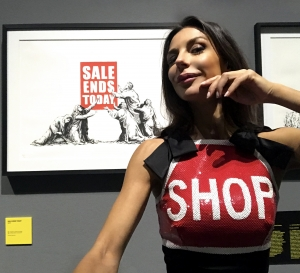 """Black Friday"" (Banksy - Sale Ends Today, 2007)"