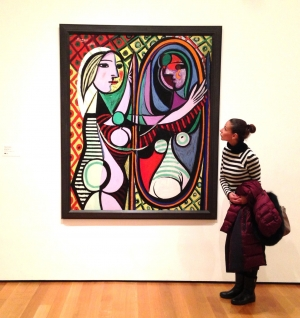 Vestite uguali! (Pablo Picasso, Girl Before a Mirror)